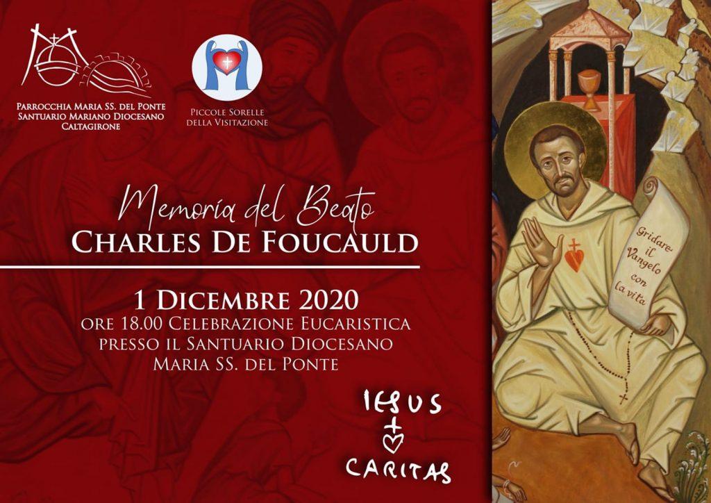 1° dicembre 2020 - Memoria del Beato Charles de Foucauld